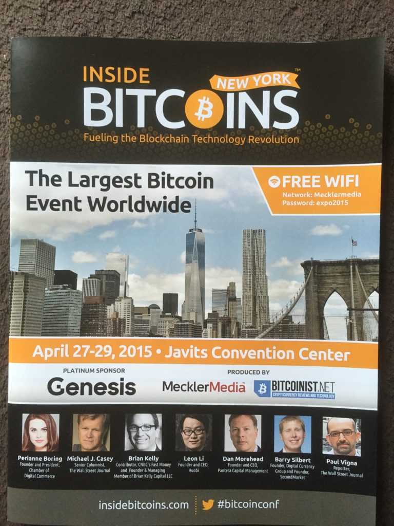 Inside Bitcoins New York Guidebook - Cover